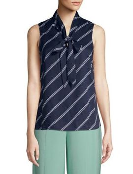 Striped Sleeveless Top by Vero Moda
