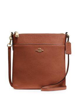 Leather Messenger Crossbody Bag by Coach