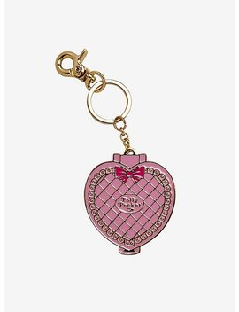 Polly Pocket Heart Key Chain by Hot Topic