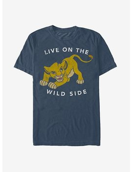 Lion King Simba Live On The Wild Side T Shirt by Hot Topic