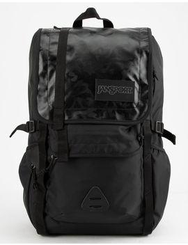 Jansport Hatchet Special Edition Black Camo Poly Carbonate Backpack by Jansport