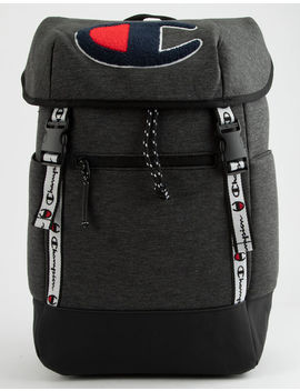 Champion Top Load Dark Gray Backpack by Champion
