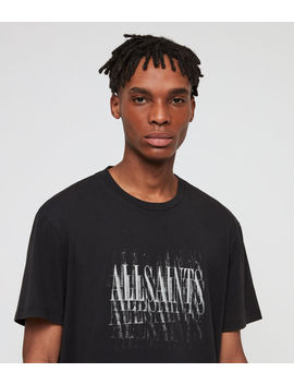 Imprint Crew T Shirt by Allsaints