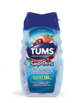 Tums Extra Strength 750mg Smoothies Antacid For Heartburn Relief by Tums