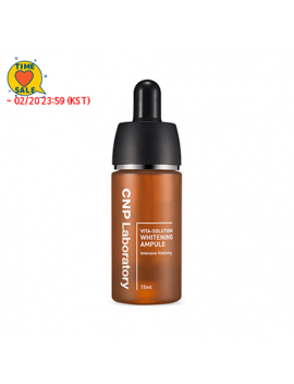 [Cnp Laboratory]  *Time Deal*  Vita Solution Whitening Ampule 15ml by Style Korean