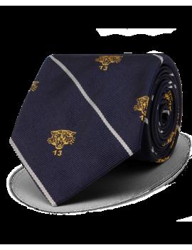 Lion Silk Narrow Club Tie by Ralph Lauren