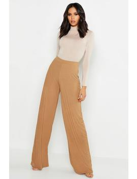 Pantalons Coupe Large à Grosses Côtes Tall by Boohoo