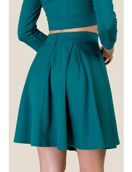 Avenida Ponte Fitted Skirt by Francesca's