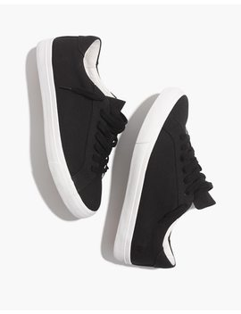 Women's Sidewalk Low Top Sneakers In Canvas by Madewell