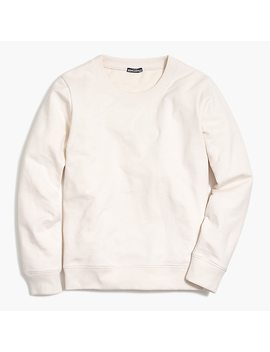 Cotton Crewneck Sweatshirt by J.Crew