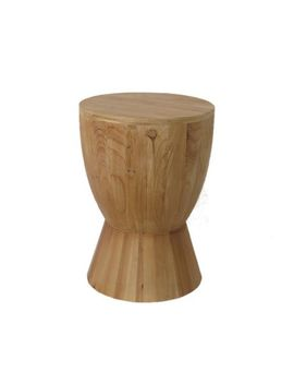 Hometrends Botanical Bliss Wood Stool by Hometrends