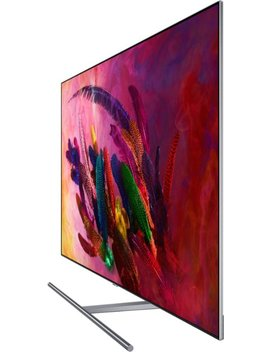 """55"""" Class   Led   Q7 F Series   2160p   Smart   4 K Uhd Tv With Hdr by Samsung"""