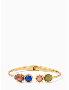 Perfectly Imperfect Open Hinged Cuff by Kate Spade