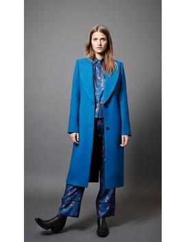 Peaked Lapel Coat by Smythe