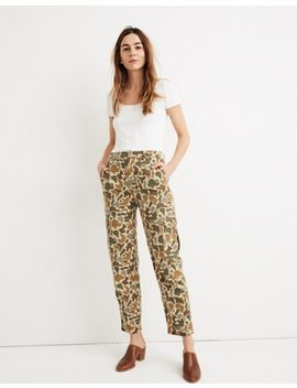 High Rise Cargo Pants In Camo by Madewell