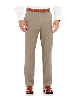Flat Front Modern Fit Travel Smart Dress Pants by Cremieux
