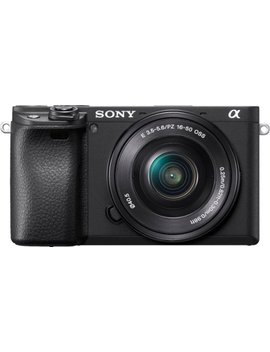 Alpha A6400 Mirrorless Camera With E Pz 16 50mm F/3.5 5.6 Oss Lens   Black by Sony