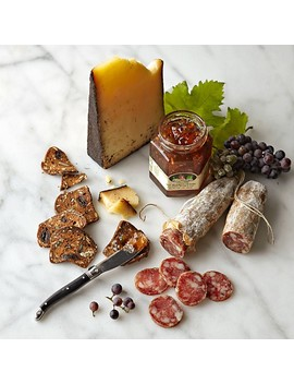 Beehive Coffee Rubbed Cheese & Salami Collection by Williams   Sonoma