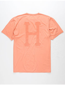 Huf Over Dye Classic H Mens T Shirt by Huf