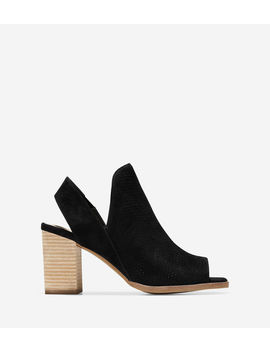 Callista Open Toe Sling Bootie (75 Mm) by Cole Haan