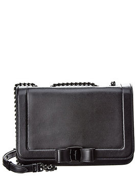Salvatore Ferragamo Vara  Leather Shoulder Bag by Salvatore Ferragamo