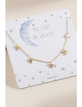 Tiffany Delicate Stars Necklace by Francesca's