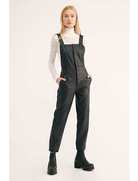 Mod Moto Dungarees by Free People