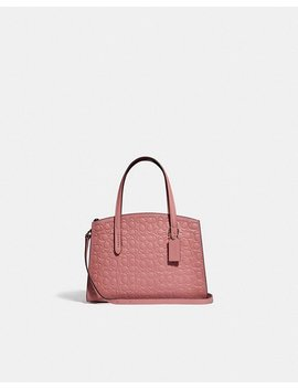 Charlie Carryall 28 In Signature Leather by Coach