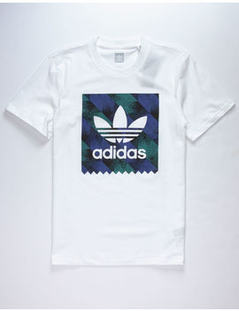 Adidas Towning Bb Logo White Mens T Shirt by Adidas