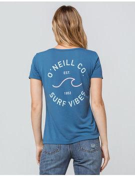 O'neill Surf Vibes Womens Pocket Tee by O'neill