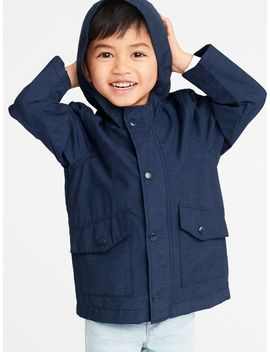 Water Resistant Hooded Anorak For Toddler Boys by Old Navy