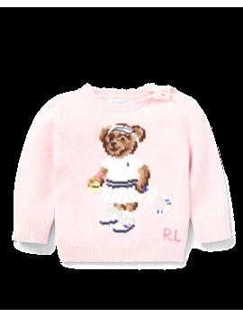 Tennis Bear Sweater by Ralph Lauren