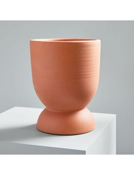 Pure Terracotta Planters by West Elm