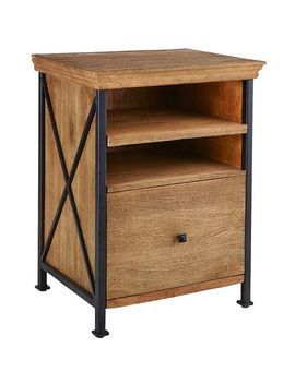 Weathered Java File Cabinet by Metro Collection
