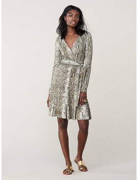 Elowen Silk Jersey Wrap Dress by Dvf