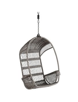 Gray Hanging Chair by Swingasan® Collection
