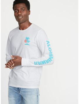 Graphic Soft Washed Long Sleeve Tee For Men by Old Navy