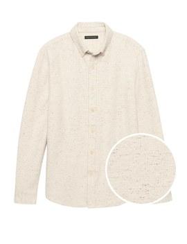 Japan Exclusive Heritage Donegal Shirt Jacket by Banana Repbulic