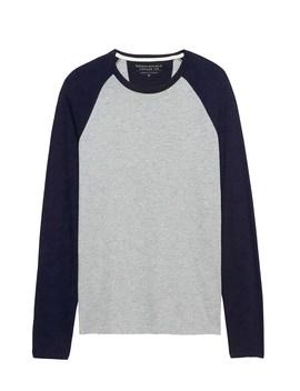 Vintage 100% Cotton Baseball T Shirt by Banana Repbulic