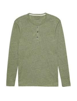 Vintage Long Sleeve Henley T Shirt by Banana Repbulic