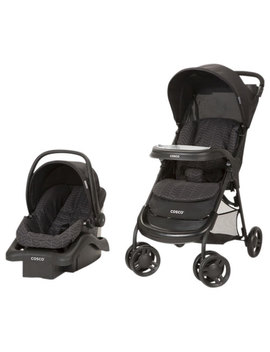 Cosco Lift & Stroll Plus Standard Stroller With Light N Comfy Infant Car Seat   Black Arrow by Cosco
