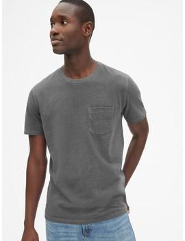 Vintage Wash Pocket T Shirt by Gap
