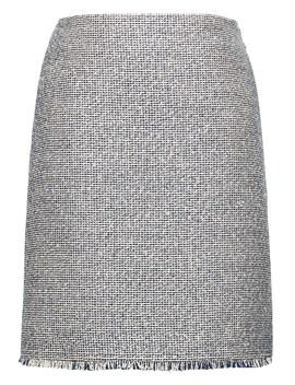 Tweed Mini Skirt by Banana Repbulic