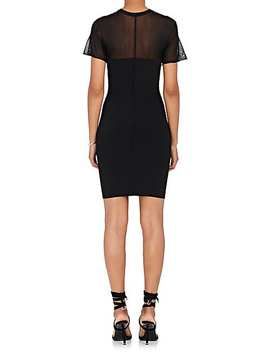 Compact Knit Fitted Dress by Alexander Wang