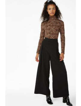 Wide Flowy Trousers by Monki