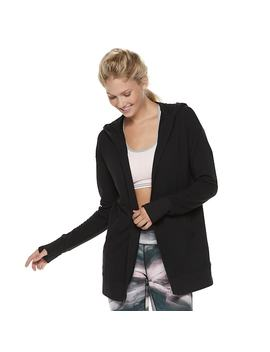 Women's Tek Gear® Hooded Wrap Cardigan by Tek Gear
