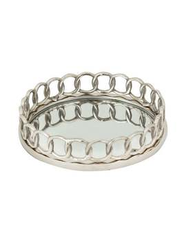 Dimond Home Nickle Ring Tray by Dimond Home