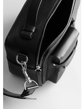 Leather Utility Crossbody Bag by & Other Stories