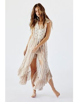 Fp One Caraway Stripe Short Set by Free People