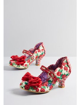 Famed Gait Mary Jane Heel by Irregular Choice